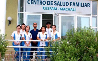 Alumnos del colegio Diego Portales finalizan proceso formativo en Salud Machalí