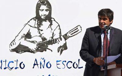 Autoridades regionales inauguran año escolar en Peralillo