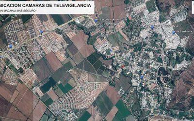Cámaras de vigilancia para algunos sectores de la comuna de Machalí