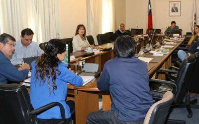 Comisión Medio Ambiente del Core conoce situación de extracción de áridos en la Región