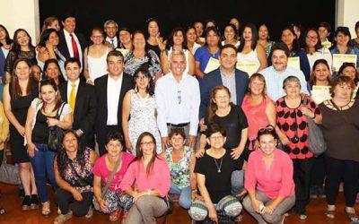 Conaf Conmemora día de la mujer con certificación de trabajadoras en Rancagua