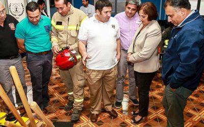 Cuerpo de Bomberos de San Fernando es reconocido por su entrega y labor