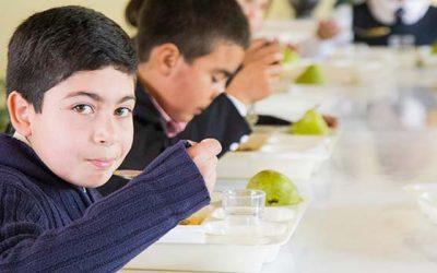 Dan el vamos al programa de alimentación escolar de la Junaeb