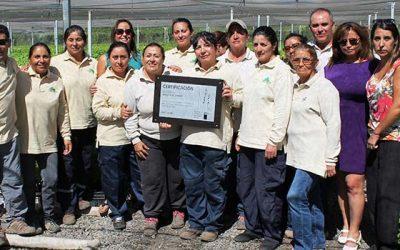 El Senda certifica a empresa Viveros El Tambo de San Vicente