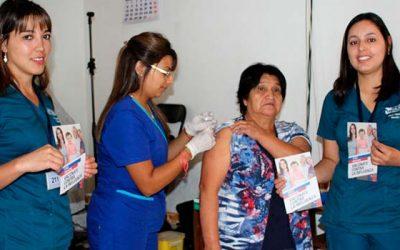En Machalí comenzó de manera oficial campaña de vacunación contra la Influenza