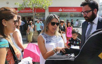 En Rancagua autoridades difunden ley de retención infantil