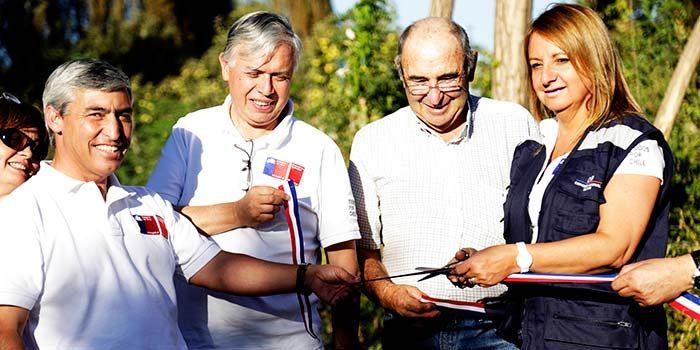 Entregan 6 mil millones de pesos en obras de riego para la Sexta Región