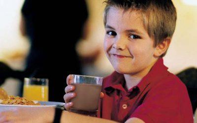 Expertos recomiendan incluir leche en la colación escolar