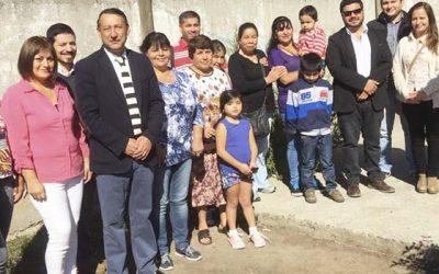 Familias machalinas reciben subsidio para ampliar sus viviendas