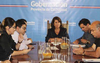 Gobernación de Cachapoal fortalece coordinación público privado para prevenir delitos