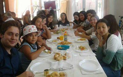 Intercambio cultural en Guayamallen Mendoza-Argentina