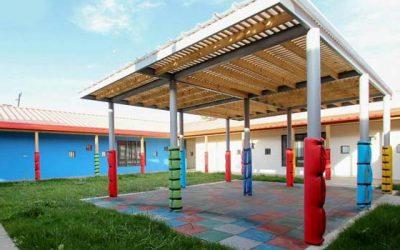 Jardín infantil Arturo Prat de rengo es uno de los más grandes construidos en la Región