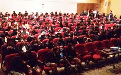 Más de 200 jóvenes de Colchagua disfrutan del CineItinerante