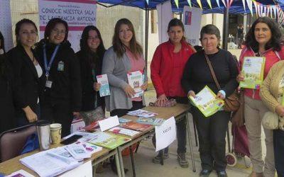 Mujeres de Pichilemu realizan feria de emprendimientos y servicio público
