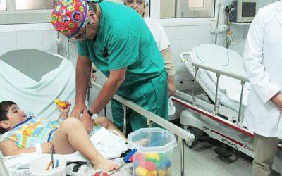 Operativo quirúrgico infantil realiza Hospital Santa Cruz
