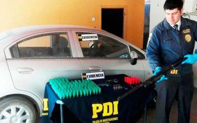 PDI Incautan armas de fantasías adaptadas en Santa Cruz