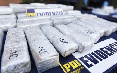 PDI logra captura de distribuidor de drogas de San Fernando