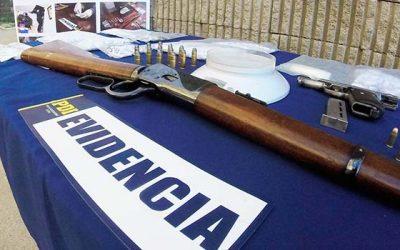 PDI realiza allanamiento a siete domicilios de rancagua incautando drogas y armas