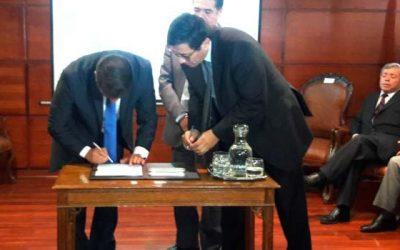 Poder judicial Ministro Marcelo Vásquez asume como nuevo presidente de Corte de Apelaciones de Rancagua