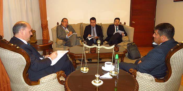 Presidente de la Corte de Apelaciones de Rancagua recibe a subdirector de la CAPJ