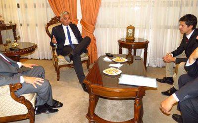 Presidente de la Corte de Apelaciones de Rancagua recibe visitas protocolares
