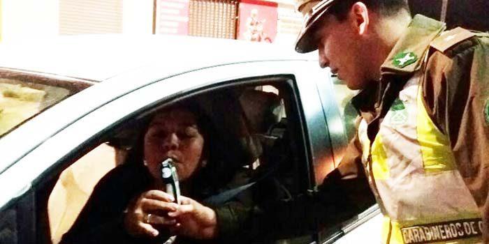 Senda Rengo realiza control preventivo a conductores