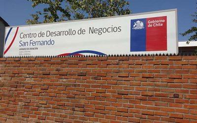 Subsecretaria Piergentili visita construcción de nuevo Centro de Desarrollo de Negocios en San Fernando