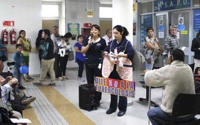Usuarios de Salud Machalí le dicen No a la Tuberculosis