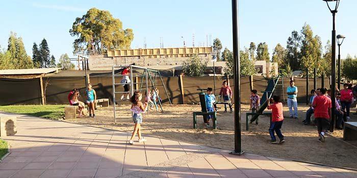 Vecinos de Ránguil cuentan con remozada plaza El Encuentro