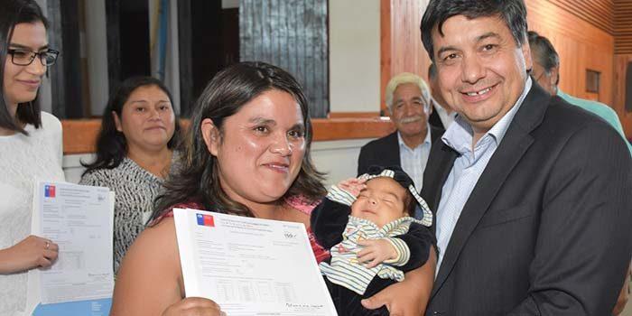 41 familias de Rengo felices con subsidios de Vivienda