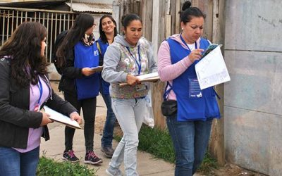 Activa colaboración de la comunidad sanfernandina en el Censo 2017