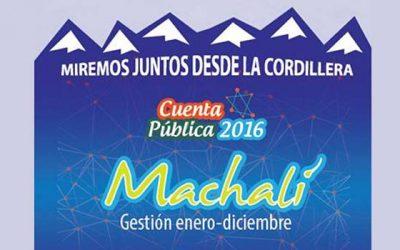 Alcalde de Machalí dará cuenta de gestión pública 2016