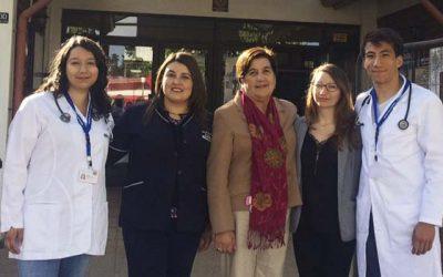 Alcaldesa de Olivar da la bienvenida a médicos en Etapa de Destinación y Formación