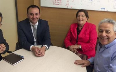 Alcaldesa de Olivar visita Subdere nacional en busca de acciones para el progreso de la comuna