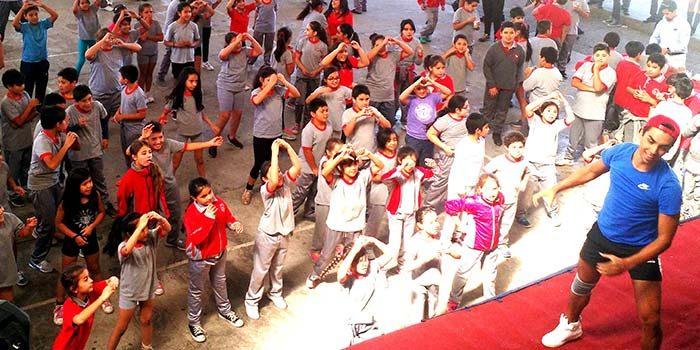 Alumnos del colegio Interamericano celebran el día mundial de la actividad física y el deporte