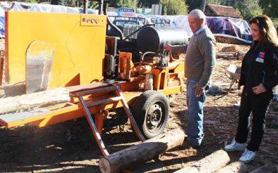 Avanzan proyectos del fondo Más leña seca en la Región de OHiggins