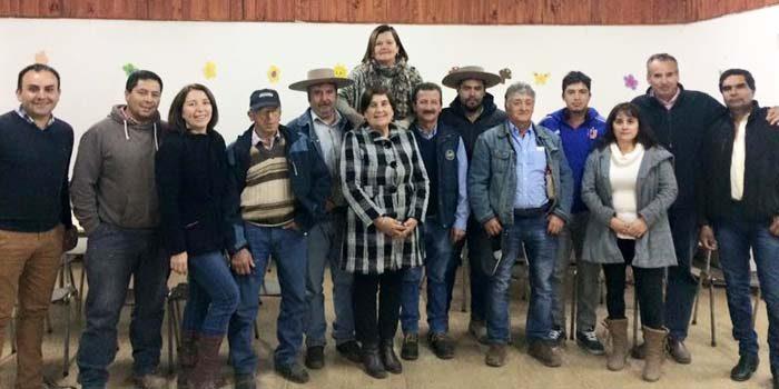 Club de Huasos de Gultro se reúne con alcaldesa de Olivar para abordar construcción de medialuna