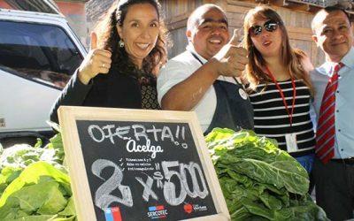 Comerciantes de feria libre de Rancagua Sur reciben pizarras nutricionales