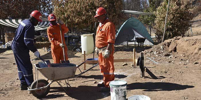 Comienzan obras para damnificados de Pumanque
