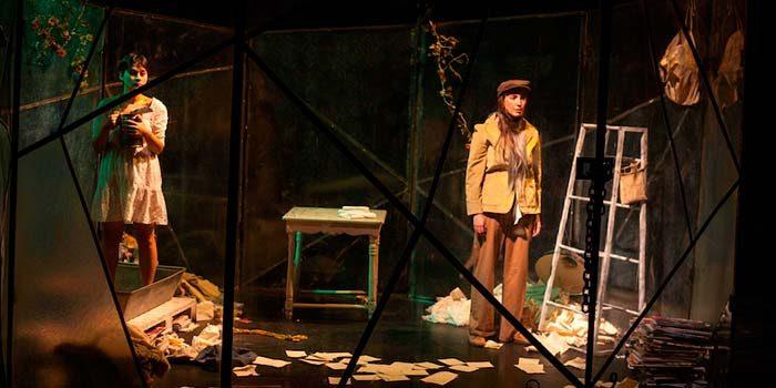 Compañía de teatro Los hijos de la china presenta los Juego de cuatro estaciones