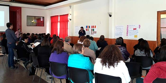 Conversatorio de atención primaria de salud en Machalí
