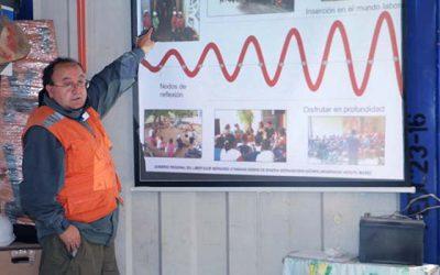 Core OHiggins conoce avances del proyecto que creará la primera Mina planta escuela del país