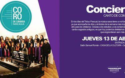 Coro de cámara municipal de Rancagua prepara concierto de semana santa