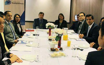 Delegación de Costa Rica realiza pasantía en Chile para conocer experiencia chilena en materia de transparencia