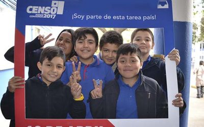 Escolares abren las puertas para el Censo 2017