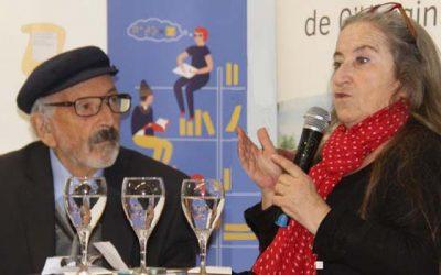 Escritores Pía Barros y Floridor Pérez celebran el día del libro en Rancagua
