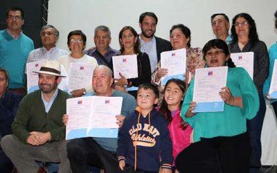 Familias de San Vicente recibieron subsidios del Ministerio de Vivienda