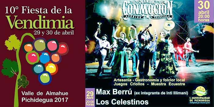 Fiesta de la vendimia valle de Almahue 2017