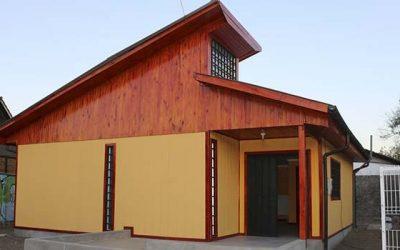 Gobierno regional entrega dos nuevas sedes a vecinos de Rancagua