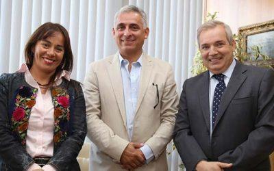 Intendente se reúne con el nuevo gerente general de la División El Teniente de Codelco